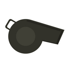 Whistle sideview icon image vector
