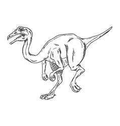 - dinosaur vector image