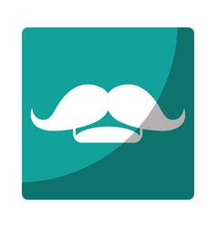 Mustache icon image vector