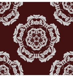 Seamless pattern vintage background vector