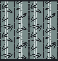 Abstract bamboo pattern vector