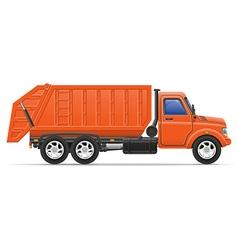 cargo truck 17 vector image vector image
