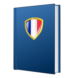 constitution of France vector image vector image