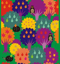 Fairy forest - garden vector