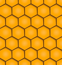 Abstract honeycombs background seamless geometric vector image