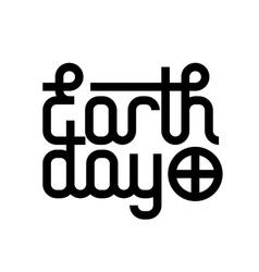 Earth day design vector