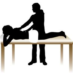 Massage design vector