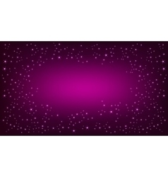 Purple space background vector