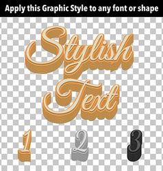 Retro Graphic Style vector image vector image