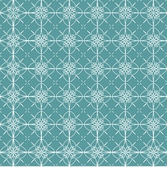 Vintage Green And White Background vector image