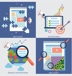 web icons set 6 vector image vector image