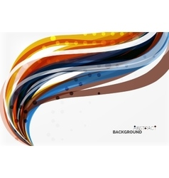 Flowing abstract background vector