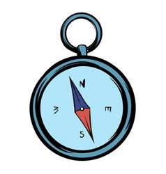 Compass icon cartoon vector