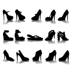 shoes 2 vector image