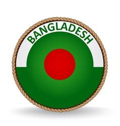 Bangladesh Seal vector image vector image