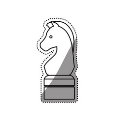 Horse chess game vector