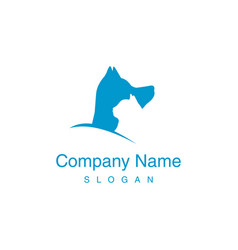 logotype veterinary vector image vector image