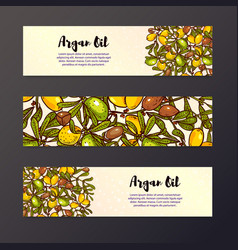 Oil background eco flyers design layouts vector