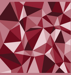 red polygon abstract triangle background vector image