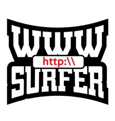 Www surfer t shirt graphics vector