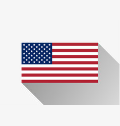 Flag of the united states usa flag vector