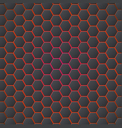 honeycombs abstract 3d hexagonal seamless backdrop vector image