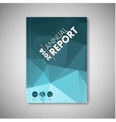 Brochure book flyer design template vector