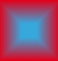 Glowing blue square vector