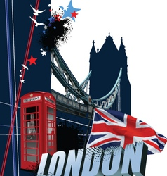 london vector image vector image