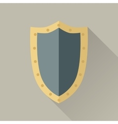 Game object of warrior shield vector
