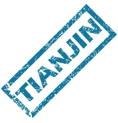 Tianjin rubber stamp vector