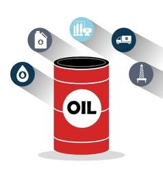 Oil and petroleum industry vector