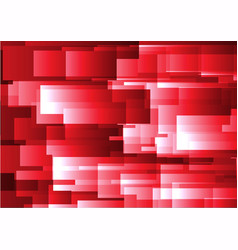 Abstract red geometric square background vector