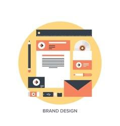 Branding vector image vector image