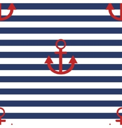 modern anchor background vector image vector image