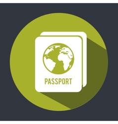 passport design vector image