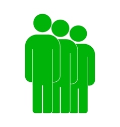People or social sign icon vector