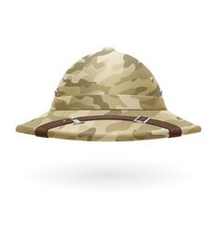 Pith helmet vector image