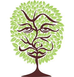 Tree face vector