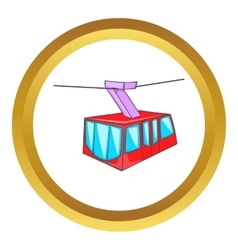 Istanbul tram icon vector
