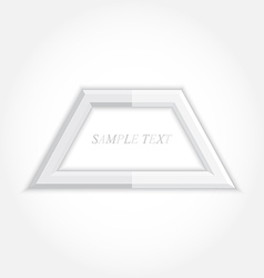 3d abstract background and square icon design vector