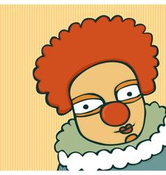 clown vector image vector image