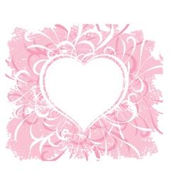 Grunge valentines vector