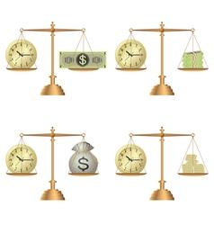 libra money vector image vector image