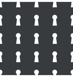 Straight black keyhole pattern vector