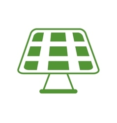 Solar panel save energy design graphic vector