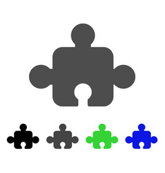 Component flat icon vector