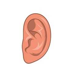 Ear icon cartoon style vector image