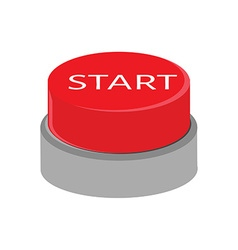 Start button vector image