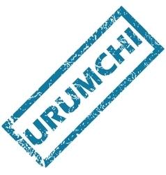 Urumchi rubber stamp vector